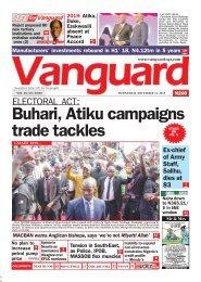 12122018 - Buhari, Atiku campaigns trade tackles