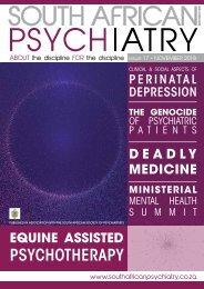 South African Psychiatry - November 2018