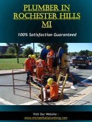 Royal Oak Plumbing | Call - 586-298-7285 | michaelhallplumbing.com