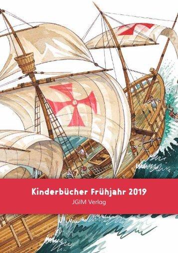 JGIM Verlag . Verlagsvorschau Frühjahr 2019
