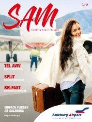 Salzburg Airport Magazin SAM 03-2018
