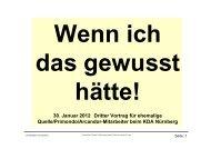 30. Januar 2012 Dritter Vortrag für ehemalige Quelle ... - kda Bayern