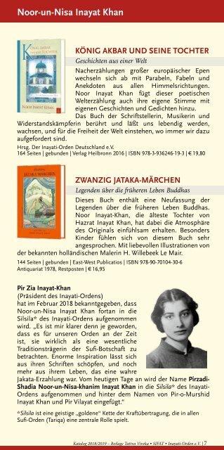 Bücher über Interreligiöse Spiritualität, Meditation und Universaler Sufismus - Verlag Heilbronn 2018 / 2019
