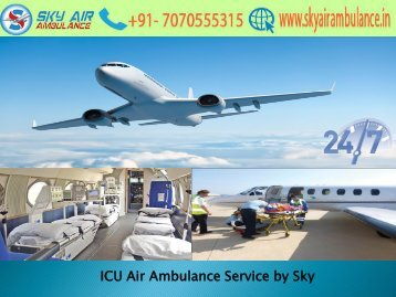 Receive High-Class ICU Air Ambulance Service in Jabalpur by Sky