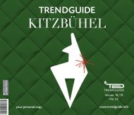 Trendguide Kitzbühel No. 42