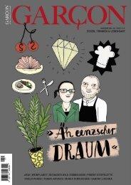 Magazin GARCON - Essen, Trinken, Lebensart Nr. 50