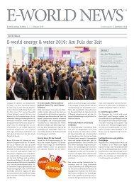 E-world News Dezember 2018