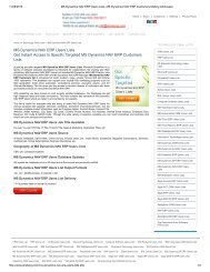 MS Dynamics NAV ERP Users Lists, MS Dynamics NAV ERP Customers Mailing Addresses