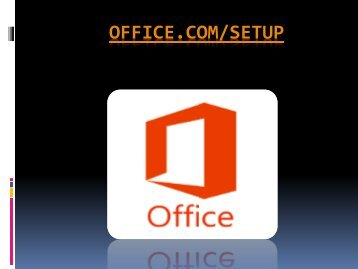 Visit office.com/setup  for office setup and install