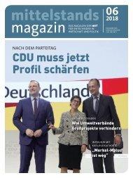 Mittelstandsmagazin 06-2018