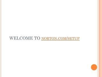 Visit norton.com/setup for norton setup support