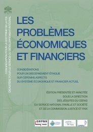 Les problèmes économiques et financiers (Œconomicae et pecuniariae quaestiones)