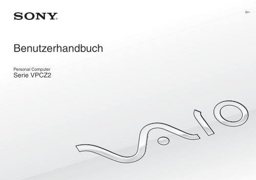 Sony VPCZ23K9E - VPCZ23K9E Istruzioni per l'uso Tedesco