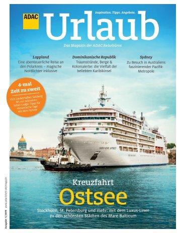 ADAC Urlaub Dezember-Ausgabe 2019_Württemberg
