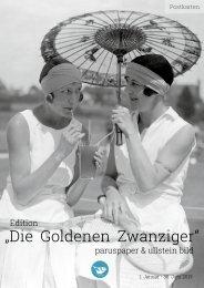 """Edition """"Die Goldenen Zwanziger"""" paruspaper & ullstein bild - 2019"""