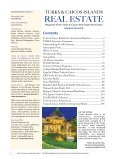 Turks & Caicos Islands Real Estate Winter/Spring 2018/19 - Page 4