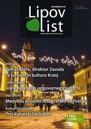 Revija Lipov list, december 2018