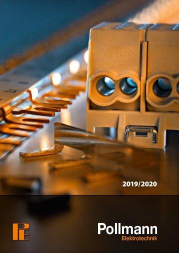 POLLMANN_Katalog_Elektrotechnik_2019-20_DE