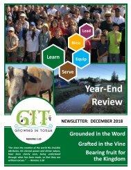 GIT Newsletter [1812] - December 2018