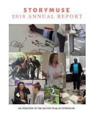 StoryMuse 2018 Annual Report