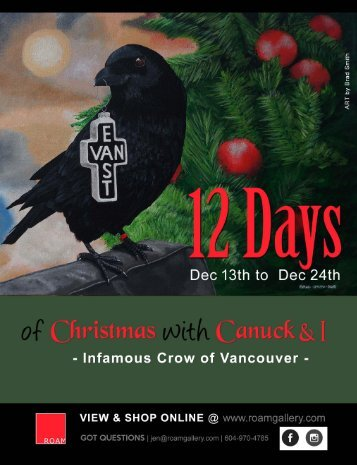 12 Days of Christmas with Canuck and I - 2018