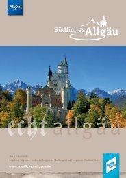 Gastgeberverzeichnis Südliches Allgäu 2019