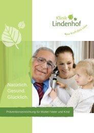 Klinikprospekt Klinik Lindenhof_12-2018