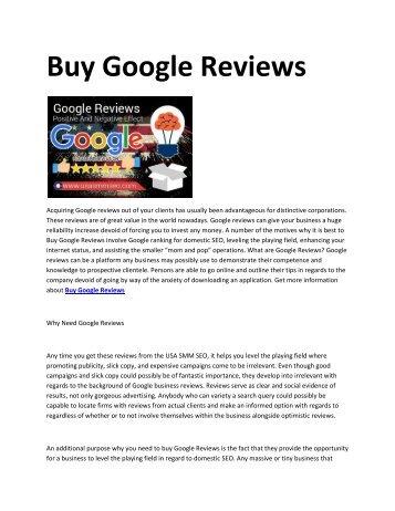 6 Buy Google Reviews