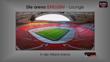 arenaEXKLUSIV Lounge