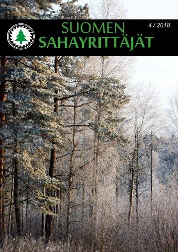 Suomen Sahayrittäjät 4/2018