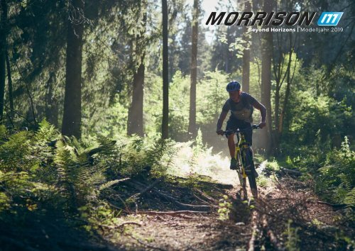 MORRISON Bikes - Beyond Horizons | Modelljahr 2019