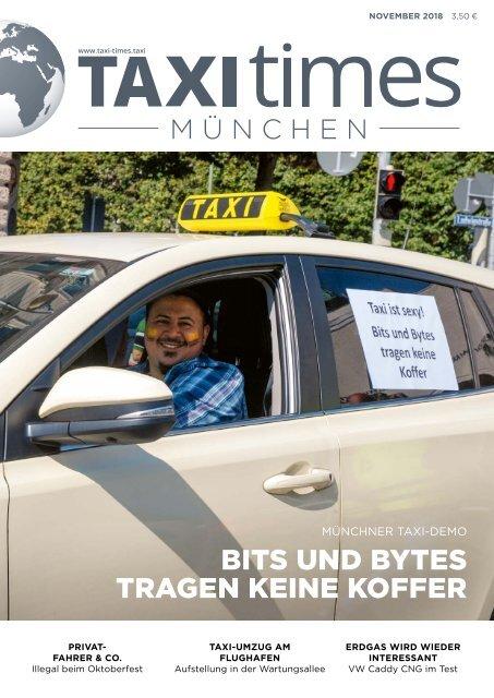 Taxi Times München -  November 2018