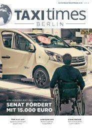 Taxi Times Berlin - Dezember 2018