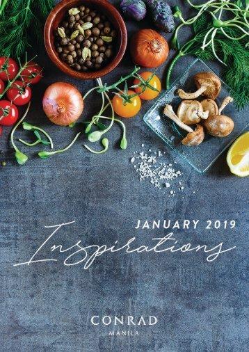 January Inspirations 2019