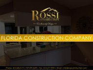 Construction Company in Tampa FL