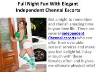 Full Night Fun With Elegant Independent Chennai Escorts-converted