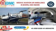 Cardinal and Matchless Air Ambulance in Bhopal and Indore by Medivic
