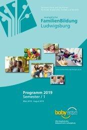Semesterprogramm Ev. FamilienBildung Ludwigsburg