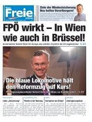 FPÖ wirkt – In Wien wie auch in Brüssel!-2018