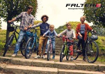 FALTER Bikes - Bewegende Freude | Modelljahr 2018