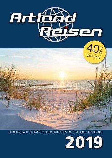 Artland Reisen Katalog 2019