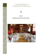Wedding Brochure 2018 - Page 7