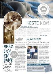 KESTE News | Ausgabe #1 // Winter 2018/19