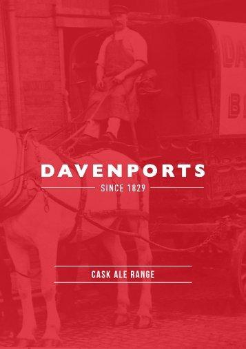 Davenports Cask Brochure