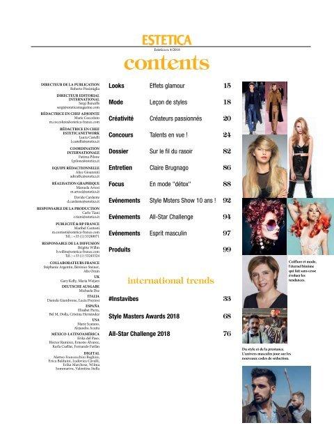 Estetica Magazine FRANCE (4/2018)
