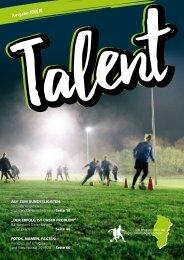 Talent - Das Magazin über das Jugendleistungszentrum Emsland - Saison 2018/2019 - kuw.de