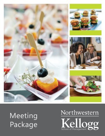 Kellogg - Meeting Package Menu