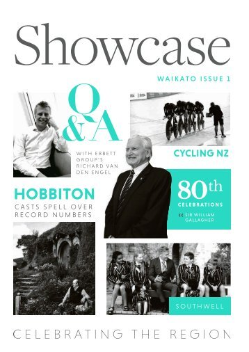 Showcase Waikato Issue 1