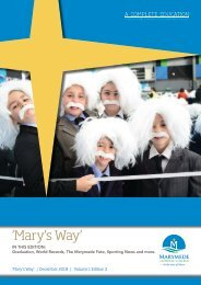 Mary's Way - Volume 1, Edition #2 - December 2018