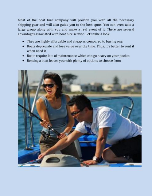 Boat Hire in Melbourne With No License Required!
